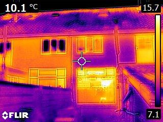 Warmtebeeld huis
